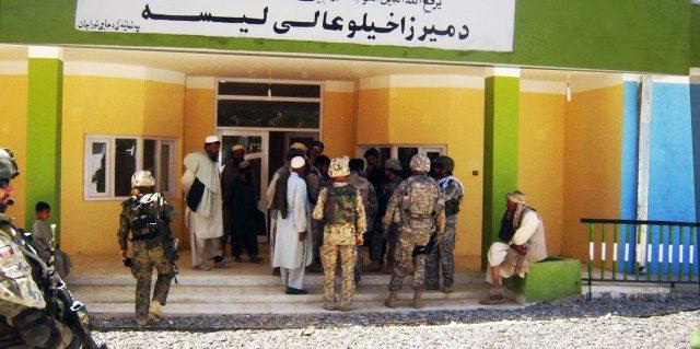 Merza Khil High School, Ghazni, Afghanistan